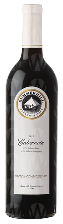 Summerhill Pyramid Winery Cabernets