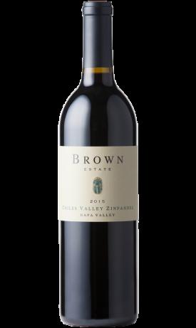 Brown Estate Vineyards Chiles Valley Zinfandel Bottle Preview