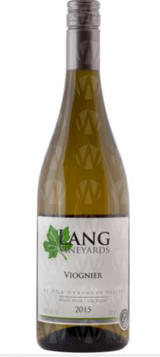Lang Vineyards Viognier