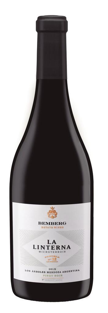 Bemberg Estate Wines La Linterna Pinot Noir Finca Las Piedras, Plot #12 Los Arboles Bottle Preview