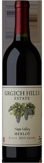 Grgich Hills Estate Merlot, Napa Valley Bottle Preview