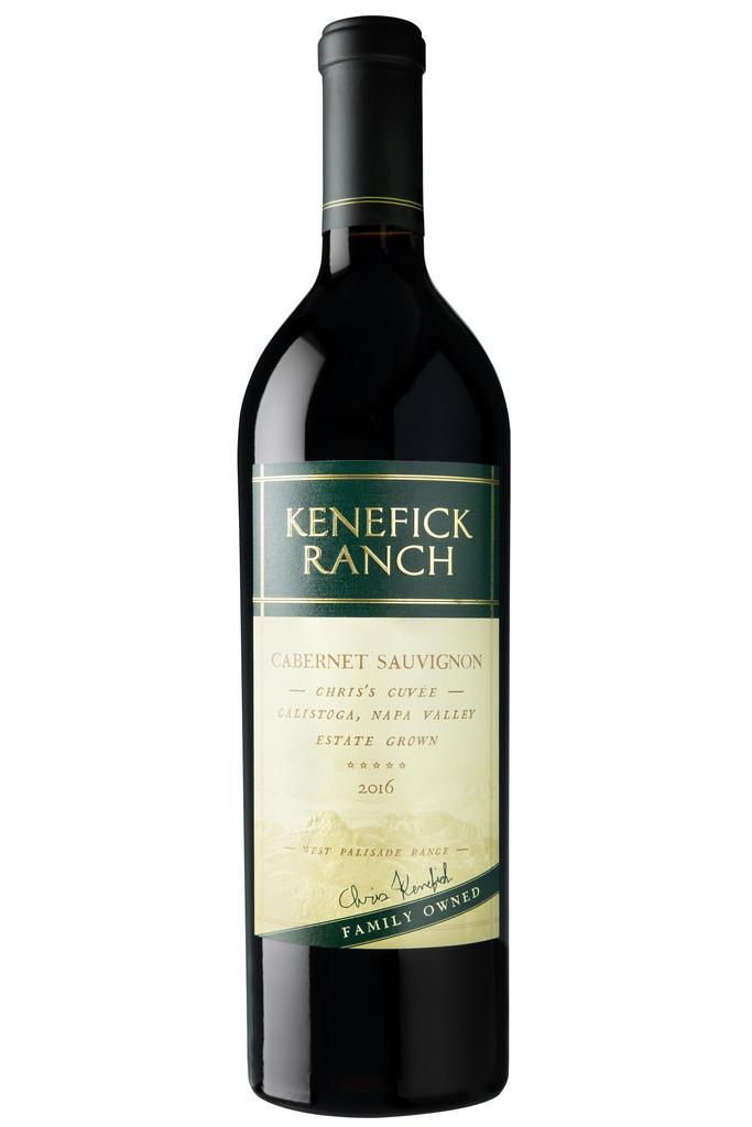 Kenefick Ranch Winery Cabernet Sauvignon, Chris's Cuvée Bottle Preview