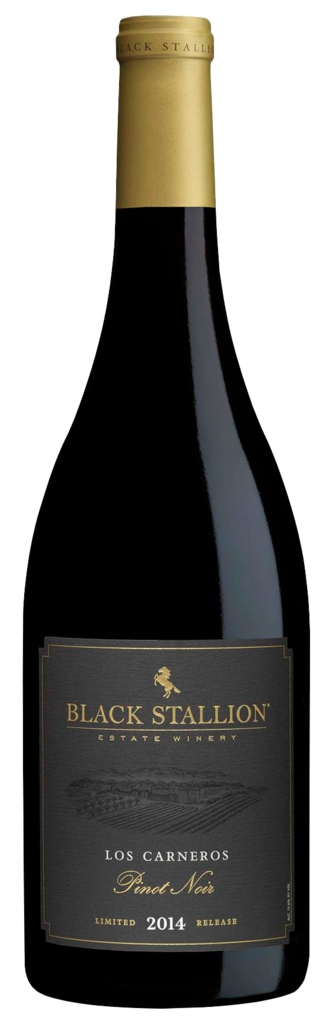 Black Stallion Estate Winery LIMITED RELEASE LOS CARNEROS PINOT NOIR Bottle Preview