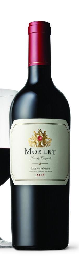 Morlet Family Vineyards Passionnément Bottle Preview