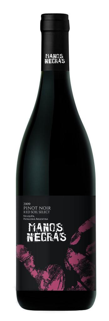 Manos Negras Red soil pinot noir Bottle Preview