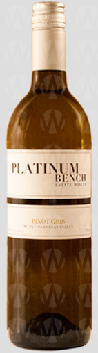 Platinum Bench Estate Winery Pinot Gris
