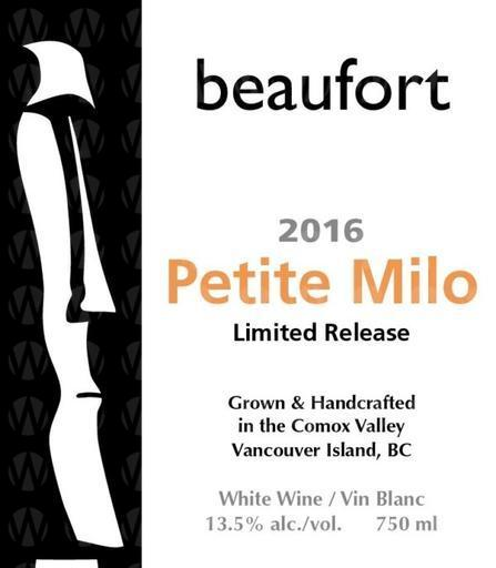 Beaufort Vineyard & Estate Winery Petite Milo Limited Release
