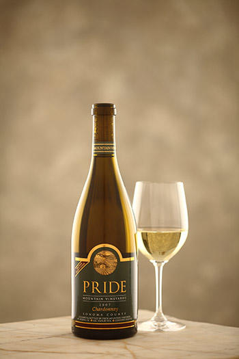 Pride Mountain Vineyards Vintner Select Chardonnay Bottle Preview