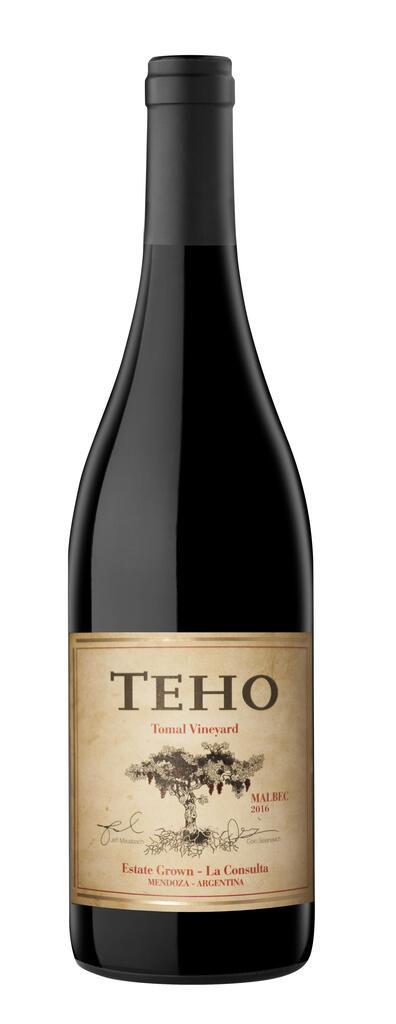 Teho Malbec Bottle
