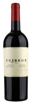 Frisson Wines Diamond Mountain District Cabernet Sauvignon Bottle Preview