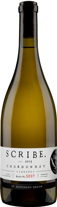 Scribe Winery Carneros Chardonnay Bottle Preview