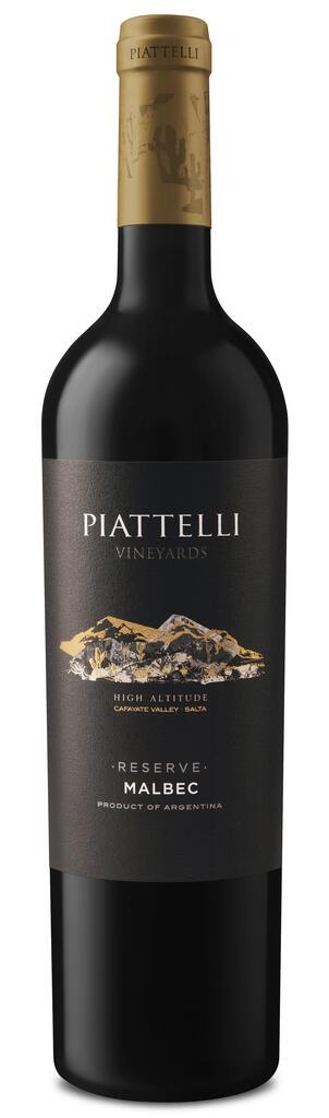 Piattelli Vineyards - Salta Piattelli Rerserve Malbec Cafayate Bottle Preview