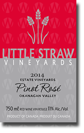 Little Straw Vineyards Pinot Rosé