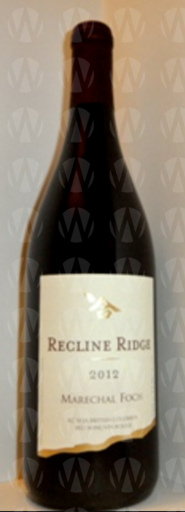 Recline Ridge Vineyards and Winery Marechal Foch
