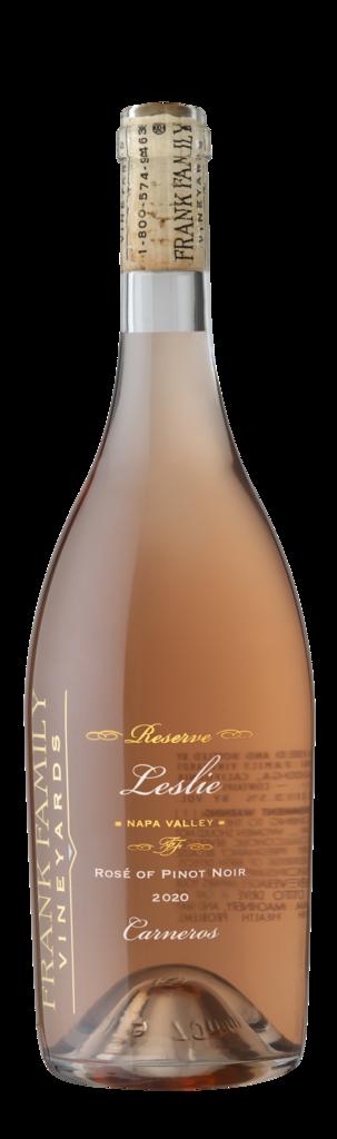Frank Family Vineyards Leslie Rosé Bottle Preview