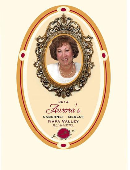 Paoletti Estates Winery Aurora's Cabernet-Merlot Bottle Preview