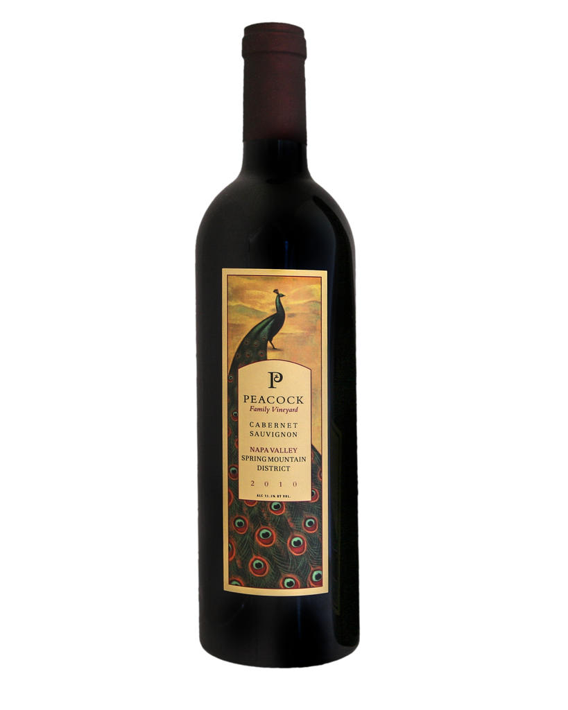 Peacock Family Vineyard Cabernet Sauvignon Bottle Preview