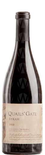 Quails' Gate Winery The Boswell Syrah