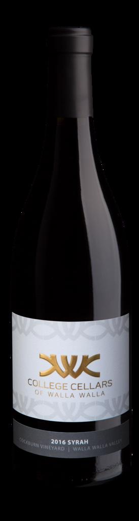 Syrah, Cockburn Vineyard Bottle