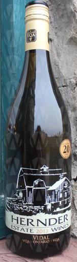 Hernder Estate Winery Vidal