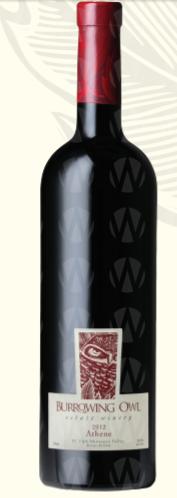Burrowing Owl Estate Winery Athene