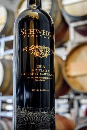 Schweiger Vineyards Cabernet Sauvignon Montaire Bottle Preview