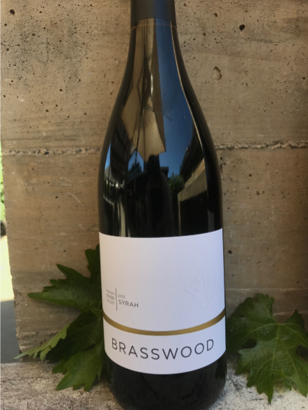 Brasswood Russian River Syrah Bottle Preview