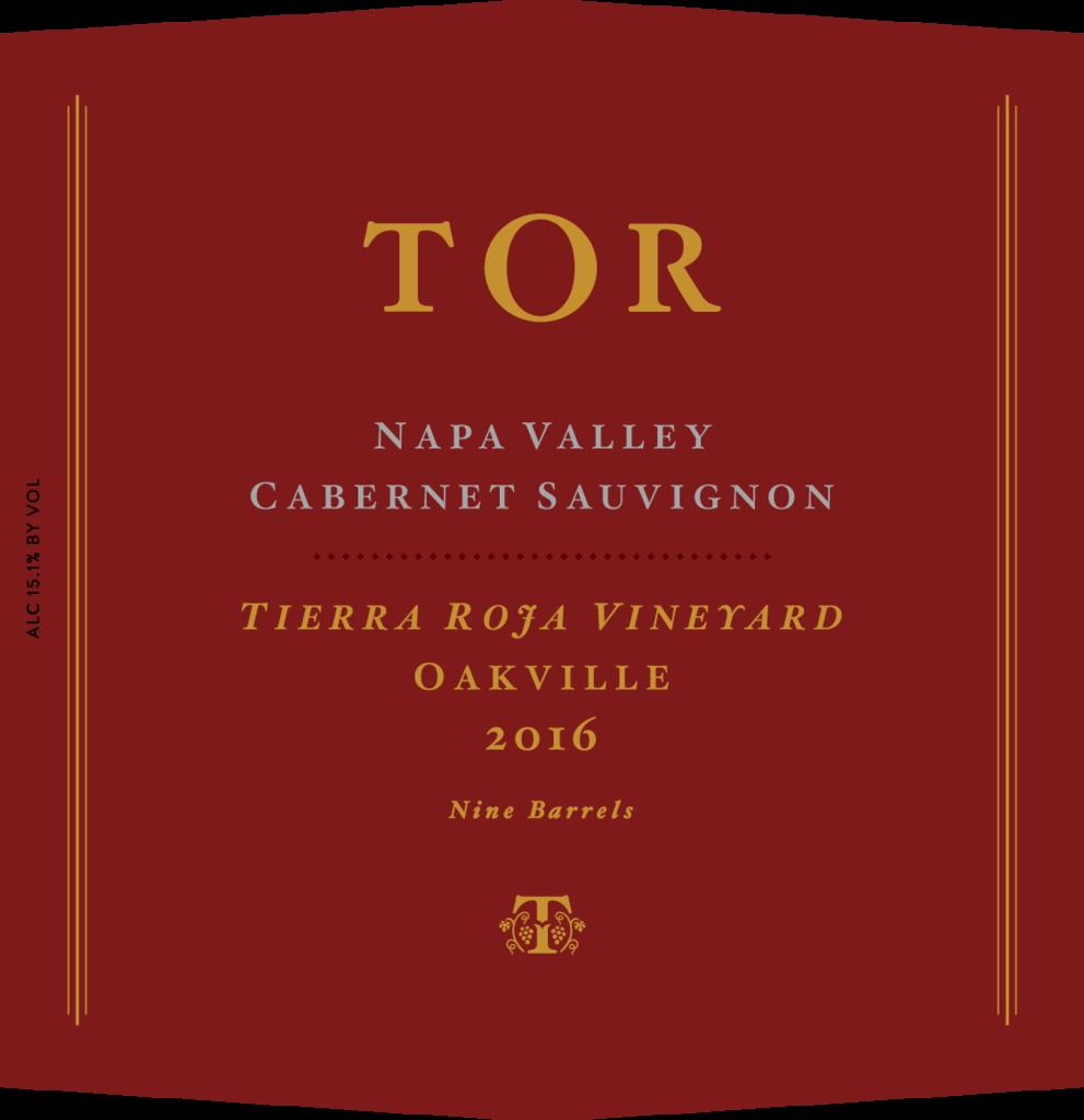 TOR Wines Tierra Roja Vineyard Cabernet Sauvignon Bottle Preview