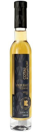 Vignoble Coteau Rougemont Vidal Vin de glace