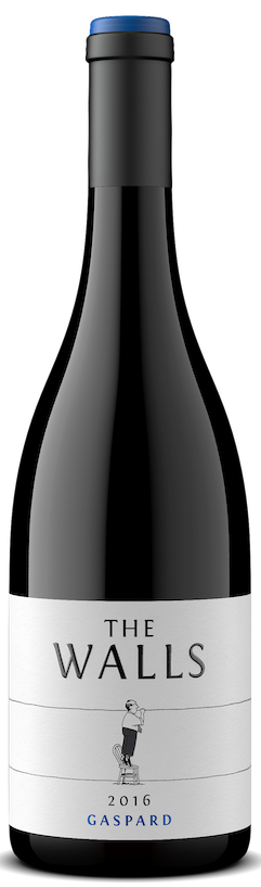 The Walls Gaspard Red Mountain Syrah Bottle Preview