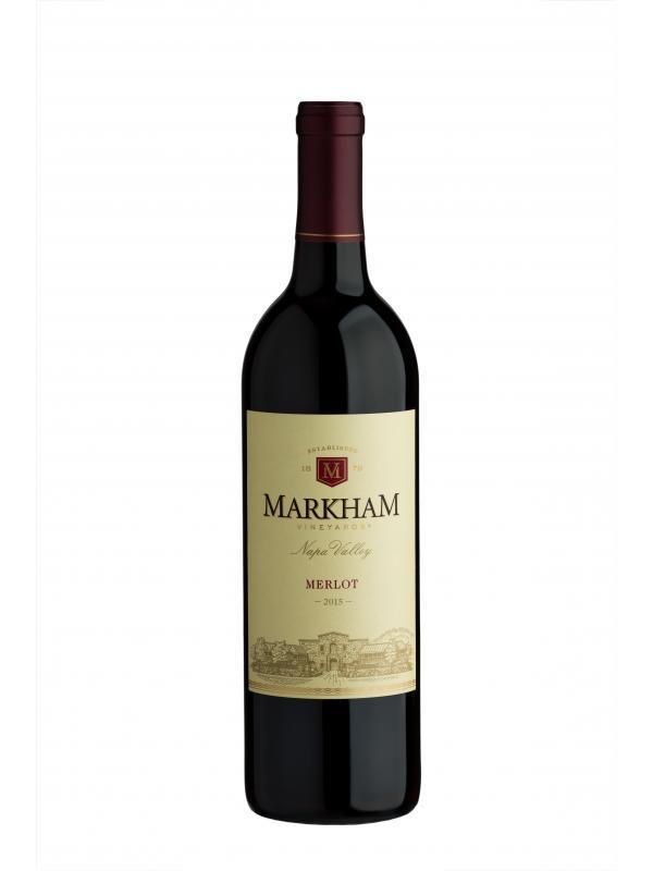 Markham Vineyards Merlot Bottle Preview