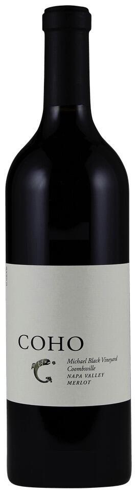 Coho Michael Black Merlot Bottle Preview