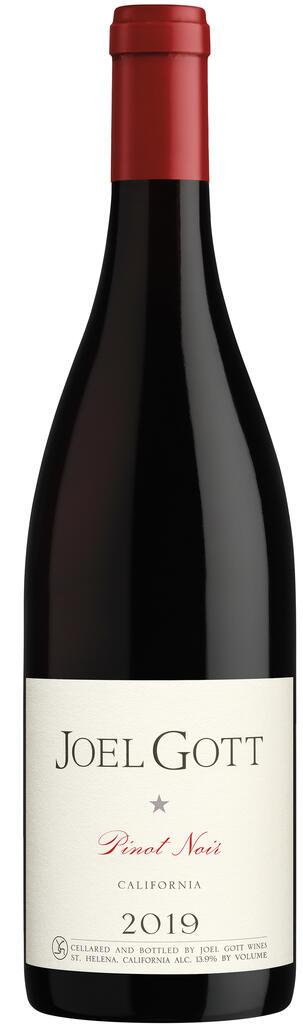 Joel Gott California Pinot Noir Bottle