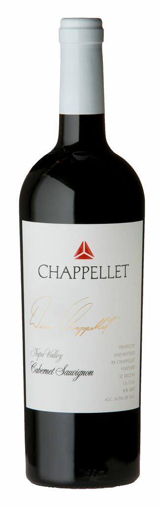 Chappellet Vineyard Signature Cabernet Sauvignon Bottle Preview