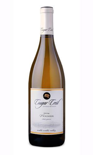 Cougar Crest Estate Winery Viognier Bottle Preview