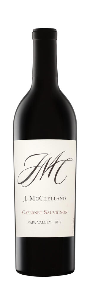 J. McClelland Cellars J.McClelland Cellars 2017 Napa Valley Cabernet Sauvignon Bottle Preview
