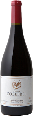 Coquerel Wines Petite Sirah Bottle Preview