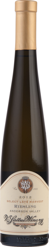 V. Sattui Winery Anderson Valley Late Harvest Riesling Bottle Preview