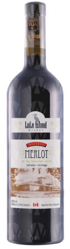 Lulu Island Winery Merlot Reserved