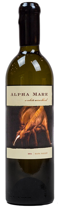 Red Mare Wines Alpha Mare White Bordeaux Blend Bottle Preview