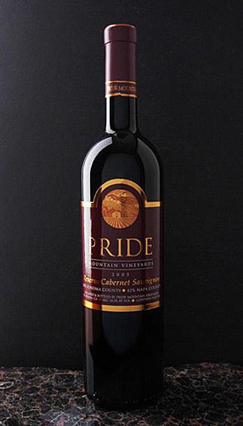 Pride Mountain Vineyards Reserve Cabernet Sauvignon Bottle Preview