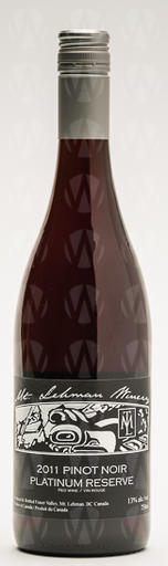 Mt. Lehman Winery Pinot Noir Platinum Reserve