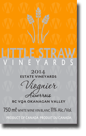 Little Straw Vineyards Viognier Auxerrois