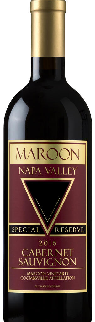 Maroon Wines Coombsville Special Reserve Cabernet Sauvignon Bottle Preview