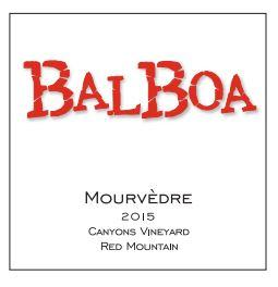 Balboa Winery Mourverdre Bottle Preview
