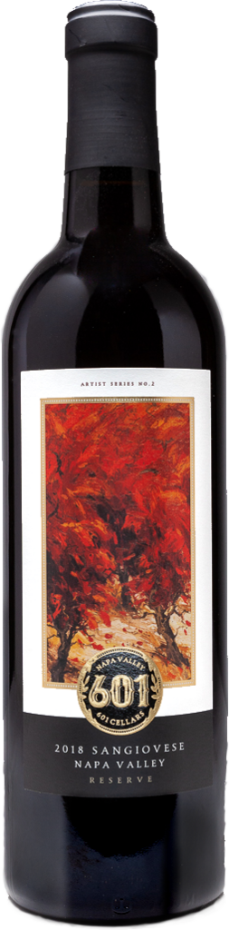 601 Cellars Napa Valley Reserve Sangiovese Bottle Preview