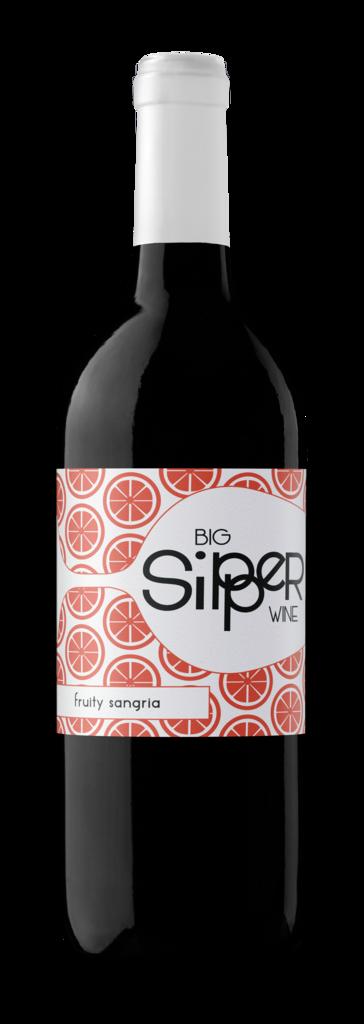 Big Sipper Wine Big Sipper | Sangria | California Bottle Preview
