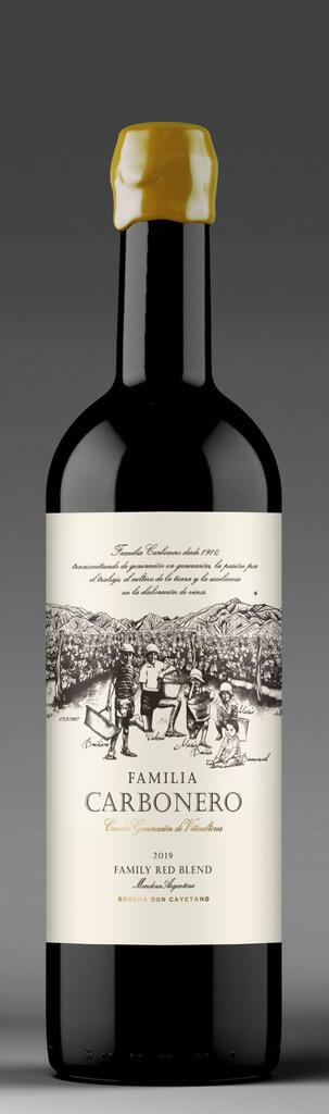 Familia Carbonero Bottle