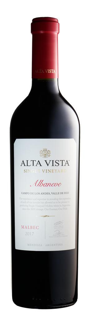 Alta Vista Single Vineyard Albaneve Bottle