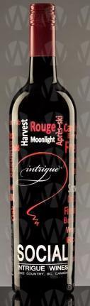 Intrigue Wines Social Red